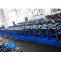 Grain Silo Steel Corrugated Panel Roll Forming Machine For Hydraulic Punching Manufactures