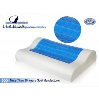 PU neck support memory foam Cooling Gel Pillow head rest sleeping Manufactures