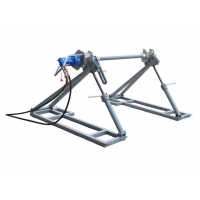Quality 5Ton Hydraulic Conductor Reel Stand For Conductor Paying-Off for sale