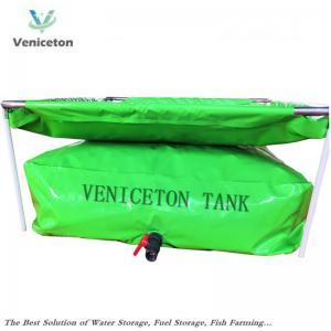 China Veniceton portable water storage tank 1000 Liters rainwater storage tank for rainwater harvesting. on sale