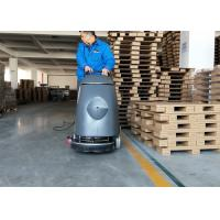 Electric 20m Cable Cement Compact Floor Scrubber Machine Walk Behind Type Manufactures