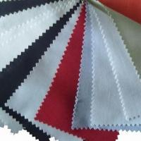 Poly and Cotton Fabric with Plain Pattern