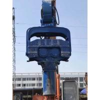 Blue Color Photovoltaic Pile Driver High Configurationby Hydraulic Motor Manufactures