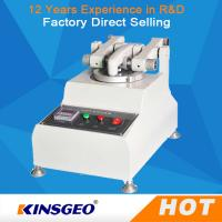 KJ-3050 Customized Rubber Testing Machine Wear Resistance Of Skin Manufactures