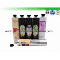 China Commercial Custom Aluminum Lotion Tubes , Aluminum Tube Cosmetic Packaging on sale