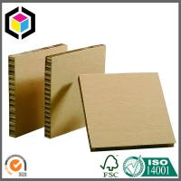 Quality Brown Surface Kraft Paper Honeycomb Board; Strong Quality Honeycomb Sheet for sale