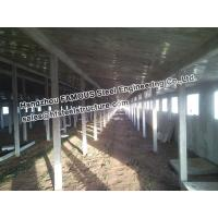 China Metal Sheds Industrial Steel Buildings For Car Garage , Painted Or Galvanized on sale