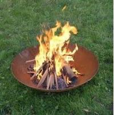 high quality fire pit outdoor fire pit garden fire bowl 100 cm diameter Manufactures
