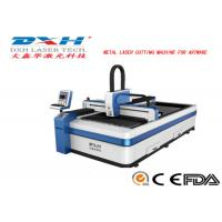 High Speed CNC Laser Metal Cutting Machine For Stainless Steel / Aluminum Manufactures