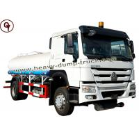 White Color HOWO Light Truck 4X2 6cmb Oil Refueling Tanks Fuel Tanker Truck Manufactures