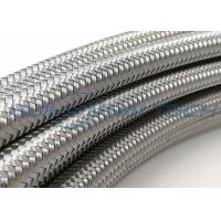 Industrial Flat Stainless Steel Braided Sleeving 90MPA 600V For Cable Conducting Manufactures