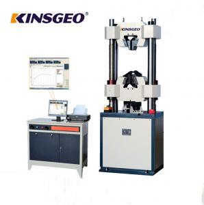 China 80mm/min Electro Hydraulic Servo Function Universal Testing MachineS Computerized on sale