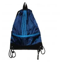 Shopping Fabric Carrier Bags Water Proof Black PU Base With Nylon Hanger Manufactures