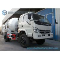 China Forland Right Hand Drive 6 Wheeler 5 M3 Concrete Mixing Truck Mercedez Technology on sale