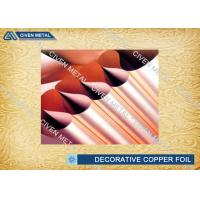 550mm - 1295mm Width Electrolytic Copper Foil for Printed Circuit Board Manufactures
