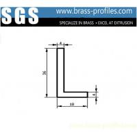 Copper Single L-Bar Copper Alloy L Sections For Window / Door Manufactures