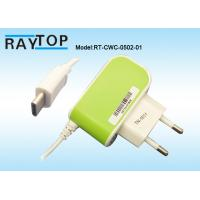 China Manuafacturer 5V 2.1A Mobile Charger 1.2M DC Cable Type C USB Connector Manufactures