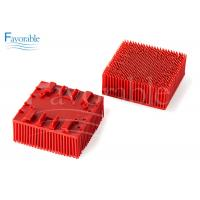 China 130298 703493 Red Nylon Bristle Blocks Suitable For Vector 2500 Cutting Machine on sale