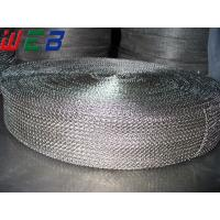 China Knitted wire mesh ribbon on sale