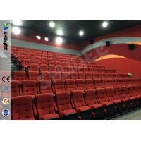 China Real Feeling Large Screen Hd 3D Cinema System For Holding 40 People on sale