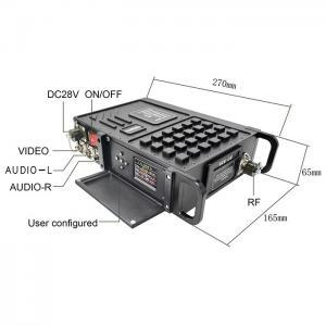 China cofdm 2.4ghz wireless digital audio transmitter receiver on sale