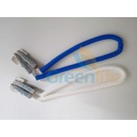 Dental Clip Expander Slim Plastic Spiral Rope Napkin Holder in Blue/White Colour Manufactures