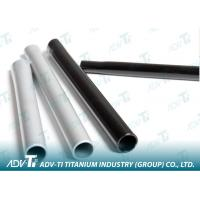 GR2 Seamless Titanium Pipe High Strength For Heat Exchanger Manufactures
