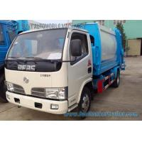 3cbm--5cbm Small Compactor Garbage Trucks Dongfeng Chassis 4x2 Manufactures