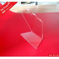 China Supermarket Acrylic Jewelry Display Holder , Clear Acrylic Display Rack on sale