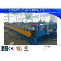 Galvanized Steel Floor Metal Deck Roll Forming Machine With 19 Forming Stations Manufactures