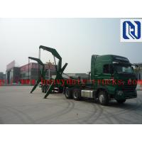 Quality Sinotruk Howo Truck Mounted Lorry Crane 6x4 10tires 25T Right Hand Drive for sale