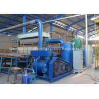 China Poultry Farm Paper Egg Box Machine With Electricity Control System on sale