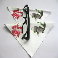 China Microfiber Eyeglass Cleaning Cloth on sale