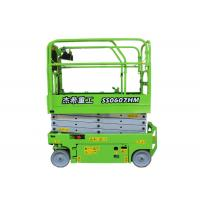 China Hydraulic Mini Scissor Lift 6m Aeial Working Platform Machine For Warehouse on sale