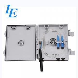 LE-1313-2B Fiber Optic Distribution Box Working Temp -40℃~65℃ For Telecommunication Manufactures