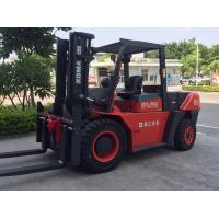 8.5 Ton Heavy Duty Forklift , Diesel Engine Forklift Truck Clearance Buffering Structure Manufactures