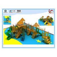 China High quailty wooden outdoor playground equipment on sale