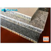 Durable Honeycomb Stone Panels 25mm Thickness Marble Flat Board 10 Years Guarantee Manufactures