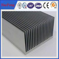 wholesale Large extruded aluminum heatsink, OEM heat sink fin aluminum extrusion profile Manufactures
