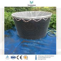 200L-100,000L High quality wire mesh tank aquaculture tank for fish farming Manufactures