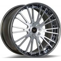 Buy cheap Custom 21 Inch 2- PC Forged Alloy Rims Wheels In Silver For VW from wholesalers