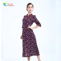 Eco Friendly Traditional Chinese Women'S Dress Mid - Calf Dresses Length Manufactures