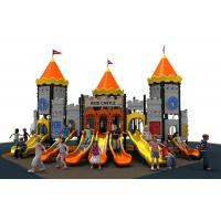 new designe colorful castle  slide  and  outddoor playground equipment for kids Manufactures