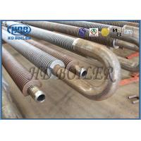 Stainless Steel 304 Economizer Spiral Fin Tubes For Hot Water Boiler Manufactures