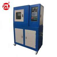 Rubber Plate Vulcanization Press Testing Machine With Water Cooling Manufactures