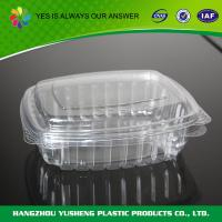 Eco Customized Safety Plastic Takeaway Containers In Clear for sale
