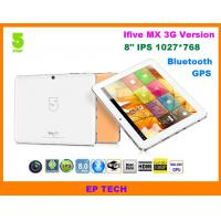 China 8 GPS tablet PC IFive MX IPS screen with build in 3G 1G/16G Bluetooth HDMI on sale
