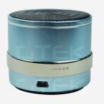 Blue Aluminum Indoor Outdoor Wireless Speakers Portable For Desktop / PC Manufactures