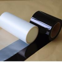 PET Black Film For Car Glass / Building Window Protection With 99% UV Blocking Manufactures