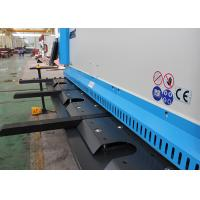 Quality Automatic Crank Guillotine Shearing Machine 16 * 6000mm User Friendly Design for sale